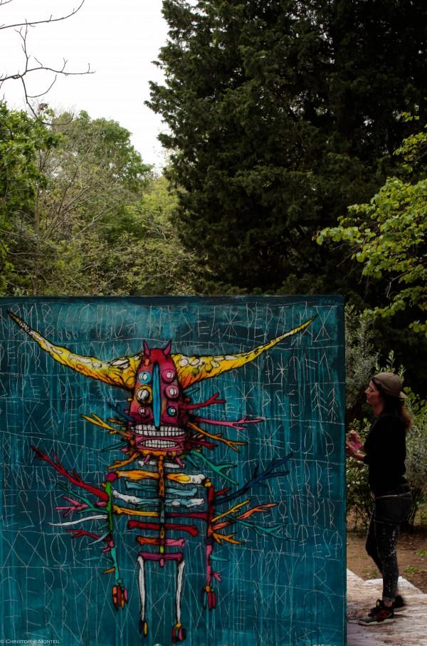 street art-Montpellier-Garden P(arty)