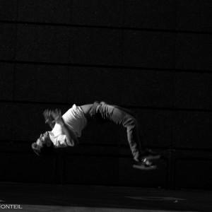 les danseurs de hip hop du Submarin crew de Montpellier