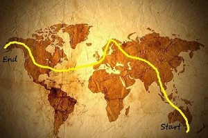Le parcours de Remy Long, un aventurier qui part faire le tour du monde à pied et à vélo, BassBering, christophe monteil