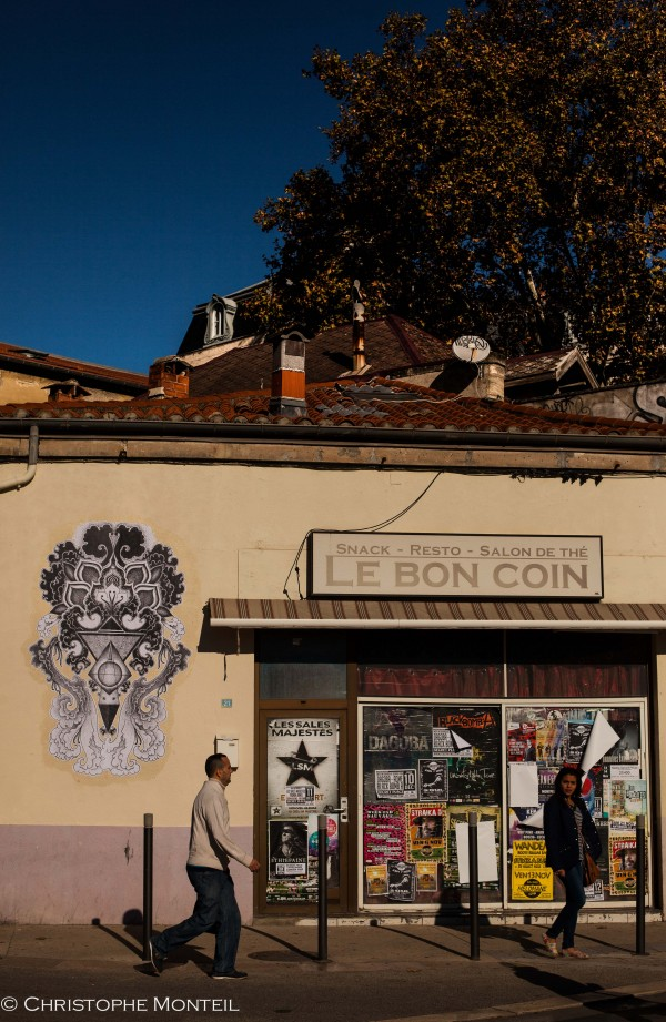 Kirrikoo, street artist, Montpellier