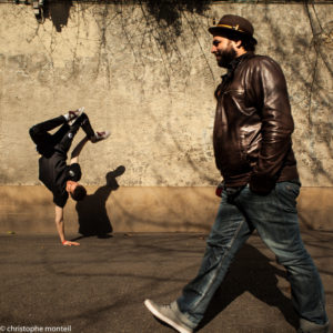 Victaz is a break dancer from the Submarin Crew, Montpellier, France