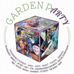 affiche de Garden P(arty), évènement de street art organisé par Montpellier Loves street art organisé