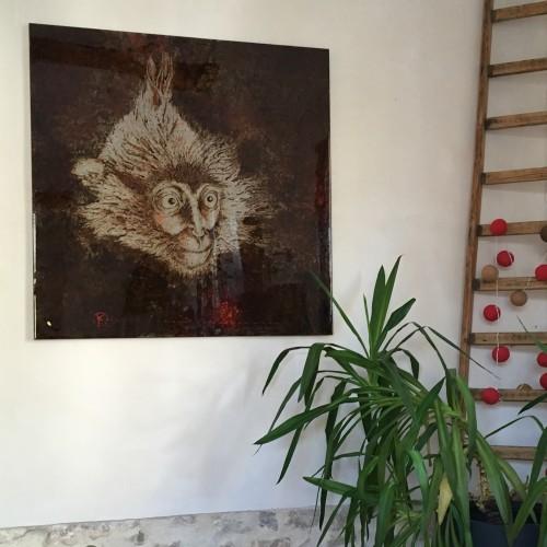 art on metal, anti-rust and rust on steel, christophe monteil, kriss, mediterranea